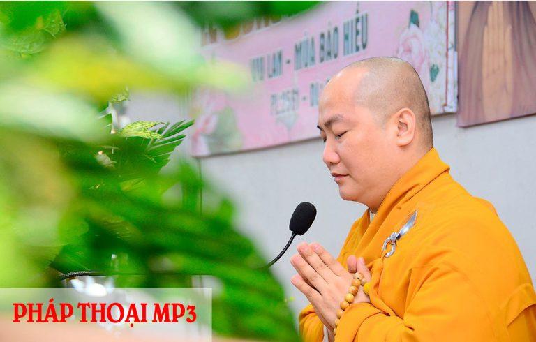 Link tải MP3 bài giảng của Thầy Thích Phước Tiến