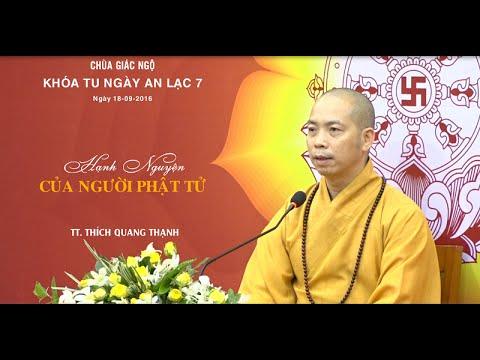 Hạnh nguyện của người Phật tử – Thích Quang Thạnh