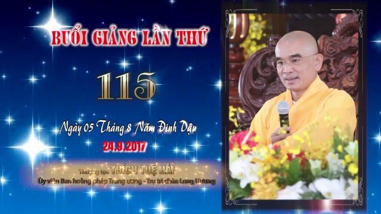 Kinh Hoa Nghiêm 115 – Thích Tuệ Hải