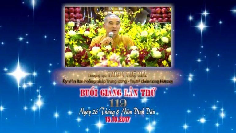 Kinh Hoa Nghiêm 119 – Thích Tuệ Hải