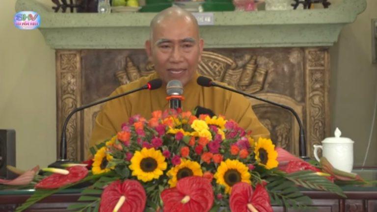 Niệm Thở Để Thành Phật – Thích Tâm Đức