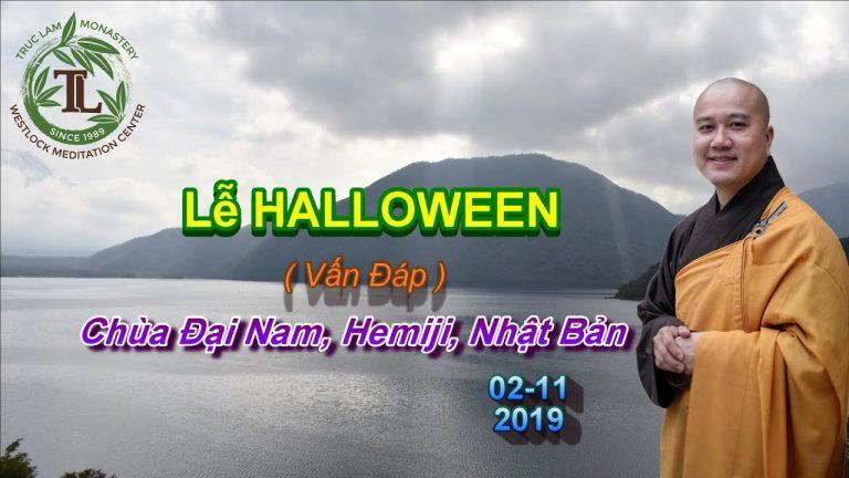 Lễ Halloween – Thích Pháp Hòa
