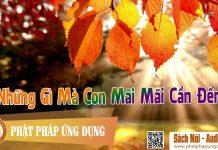 Những Gì Mà Con Mãi Mãi Cần Đến - Sách Nói (Audio Books) | Phật Pháp Ứng Dụng