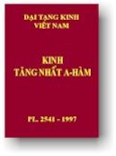 Kinh Tăng Nhất A Hàm - HT Thích Thanh Từ dịch