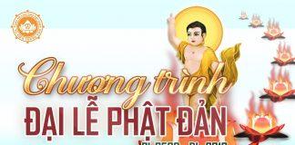Chương Trình Đại Lễ Phật Đản PL 2562 - DL 2018
