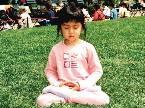 Thiền Tập Với Trẻ Em