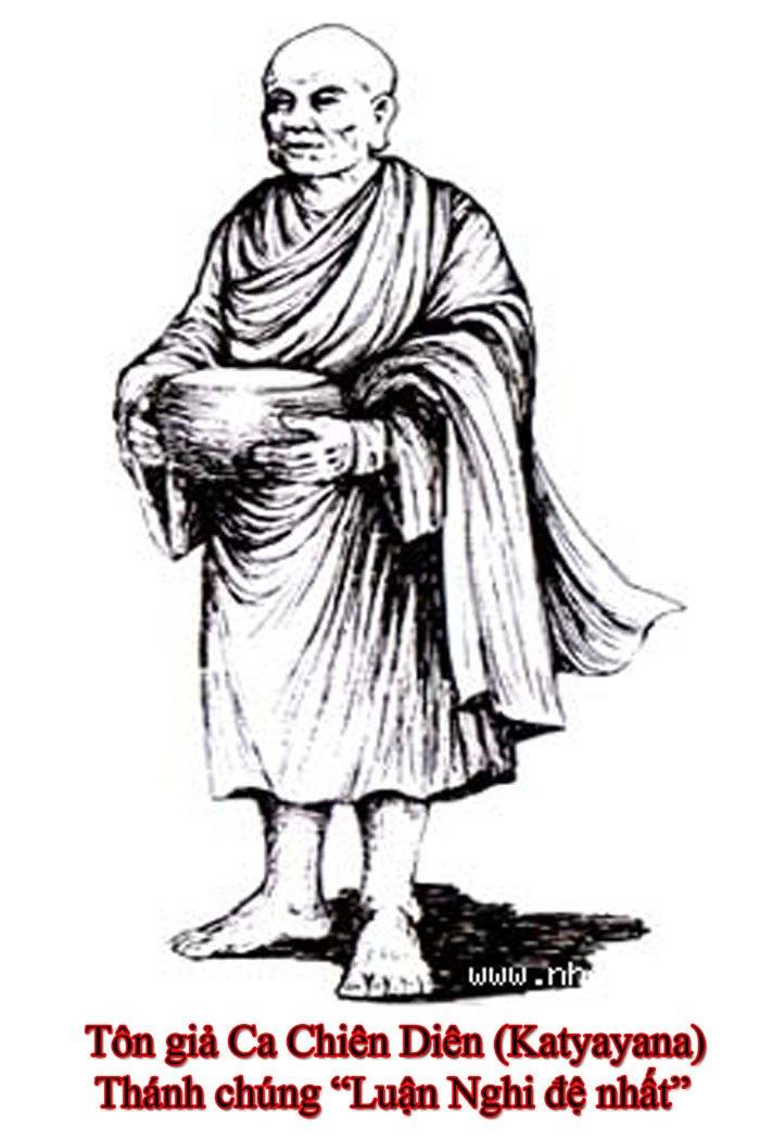 Tôn giả Ca Chiên Diên - Luận nghị đệ nhất