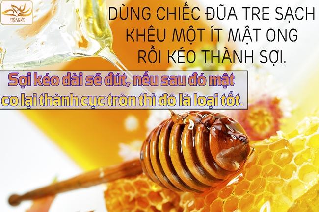 Cách nhận biết mật ong thật và giả cực dễ