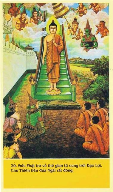 Cuộc đời đức Phật Thích Ca qua tranh