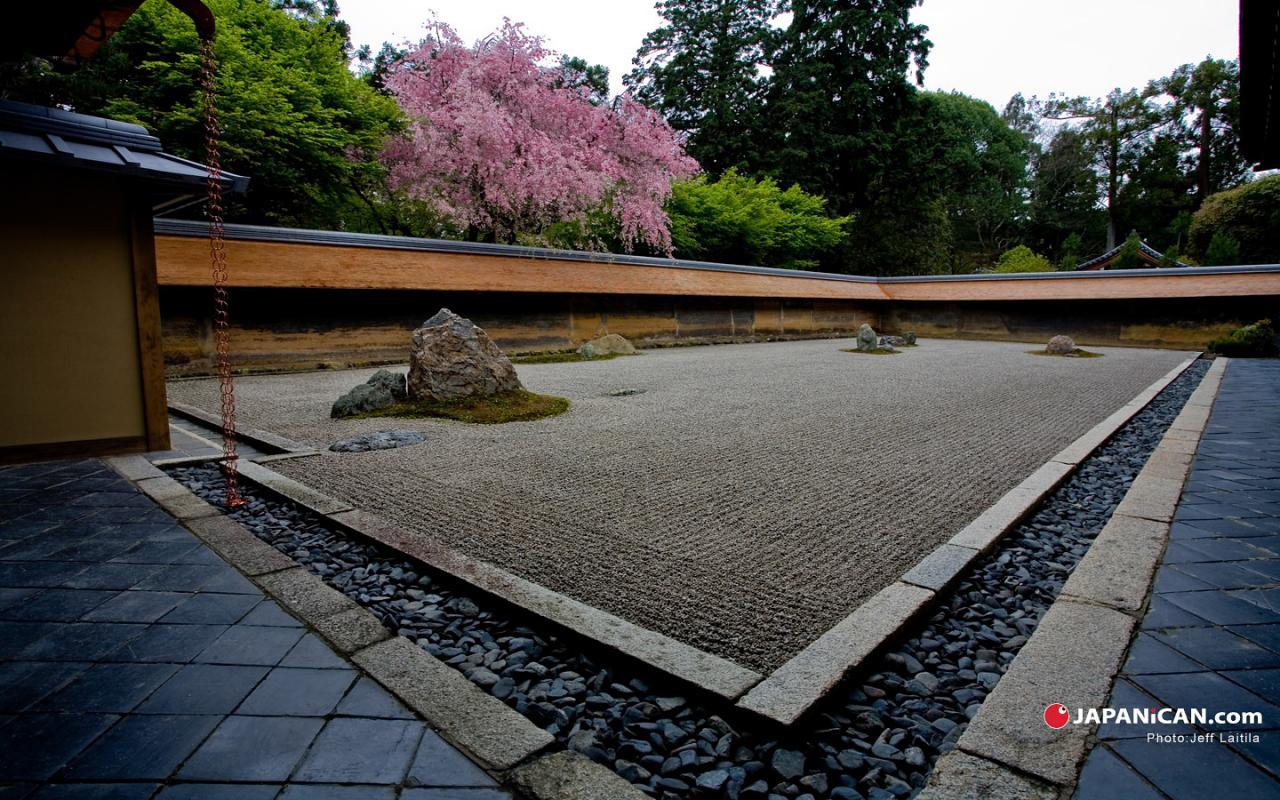 Dạo quanh vườn Thiền Nhật Bản