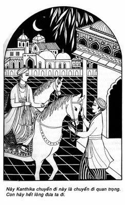 Đường Xưa Mây Trắng - Chương 12: Con Ngựa Kanthaka