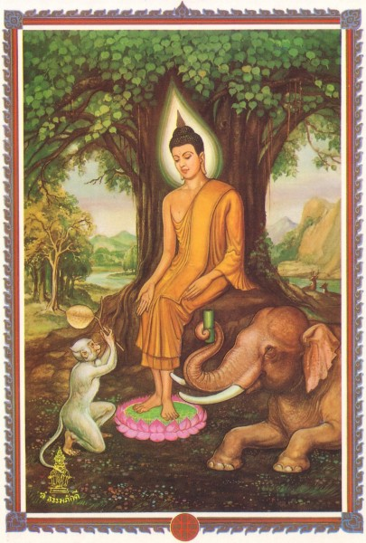 Hình tượng đức Phật theo truyền thống dân gian Thái Lan