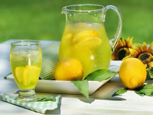 Những thức uống bổ dưỡng từ chanh tươi