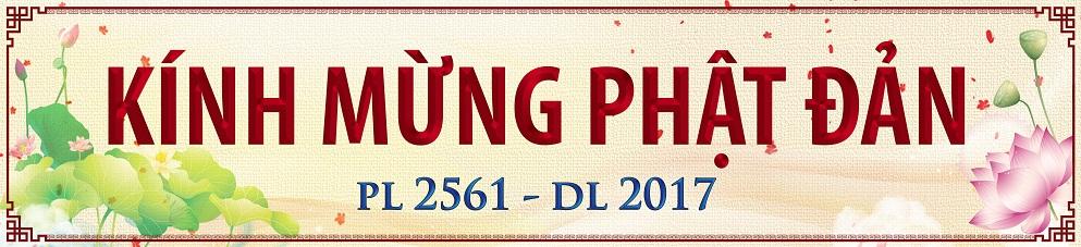 Tâm Thư Kêu Gọi Treo Cờ Và Băng Rôn Nhân Dịp Phật Đản PL 2561 - DL 2017
