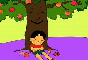 Chú bé và cây táo thần tiên