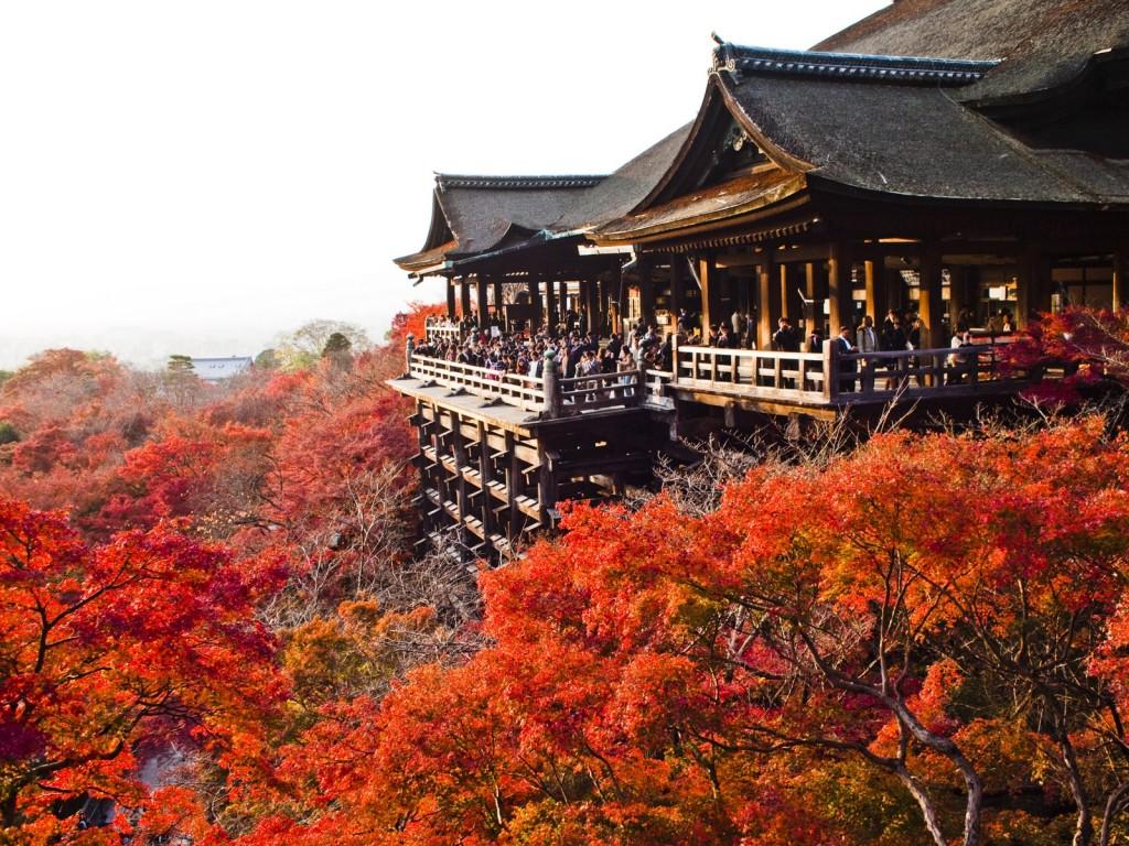 Chùa Kiyomizu – Di Tích Văn Hóa Cố Đô Kyoto Nhật Bản