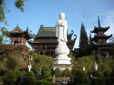 Chùa Minh Thành - Nơi tâm hồn lắng động