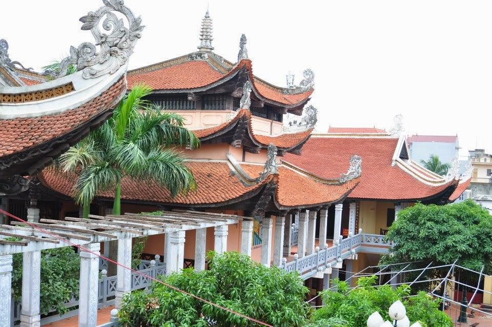 Chùa Tứ Kỳ - Ngôi chùa cổ giữa lòng Hà Nội