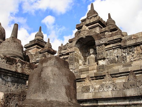 Đền Borobudur, Java, Indonesia