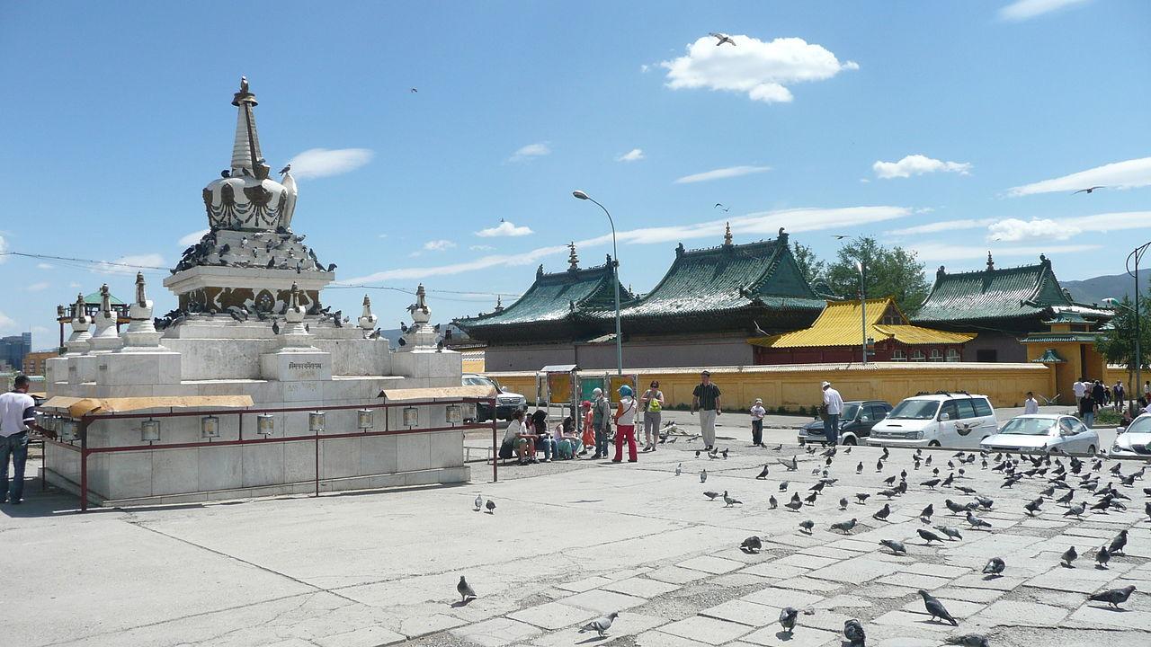 Đến Ulaanbaatar chiêm ngưỡng bức tượng vàng Quán Thế Âm