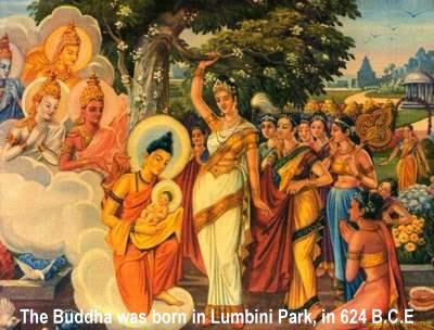 Đức phật nói pháp gì khi mới chào đời?