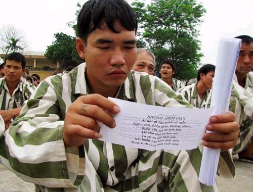 Giáo lý nhà Phật lan tỏa tới trại giam