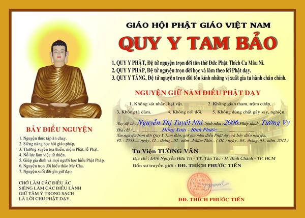 Giáo Trình Phật Học - 09. Quy Y Nương Tựa