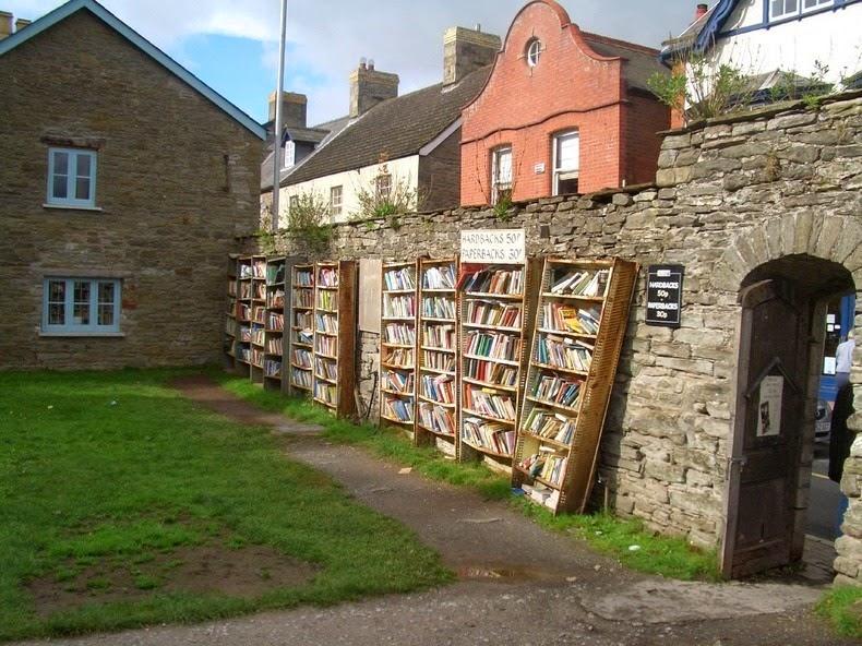 Hay-on-Wye_Thị trấn sách bên bờ sông Wye thơ mộng