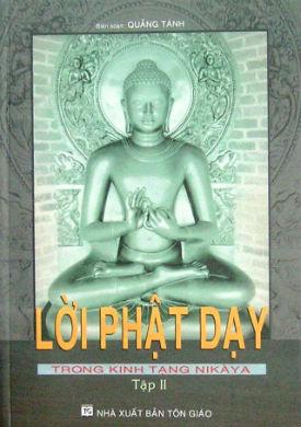 Lời Phật Dạy Trong Kinh Tạng Nikaya Tập 1