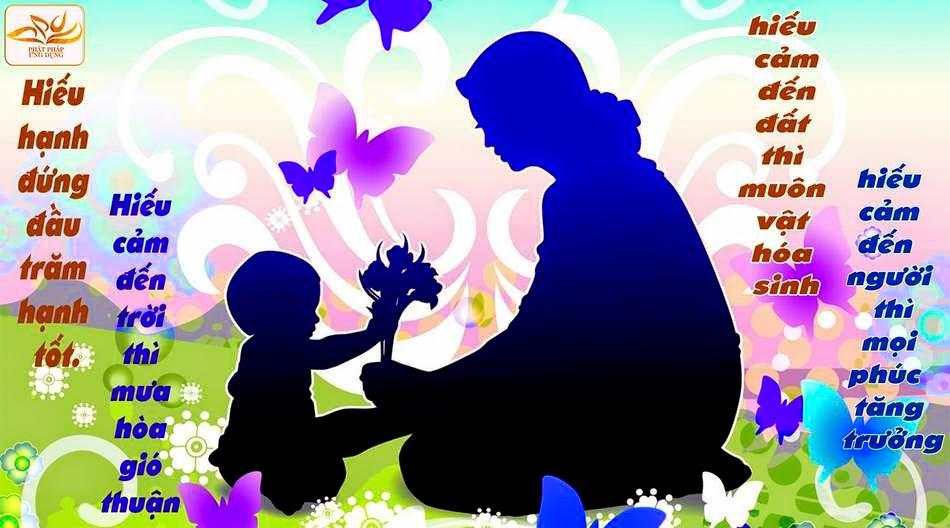 Lời Phật dạy về công ơn cha mẹ