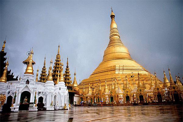 Lộng lẫy Chùa Vàng ở cố đô Myanmar