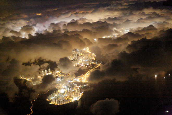 Ngắm thế giới đẹp ngỡ ngàng qua cửa sổ máy bay
