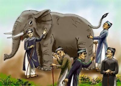Người mù sờ voi