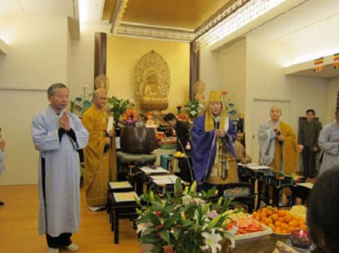 Nisshinkustu - Ngôi chùa gắn bó với người Việt tại Nhật Bản