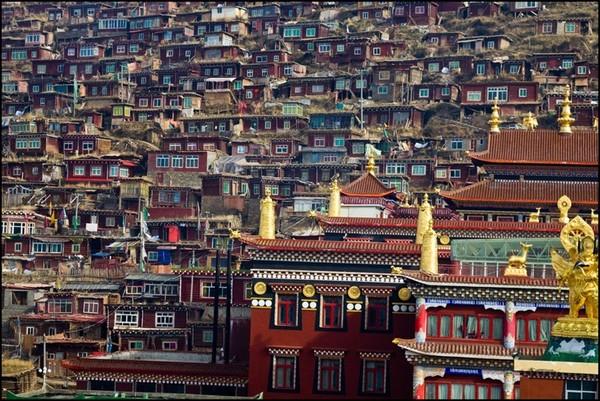Thăm Học viện Phật giáo Larung Gar ở Tây Tạng