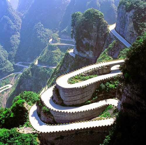 Thiên Môn sơn - 999 nấc thang lên thiên đường