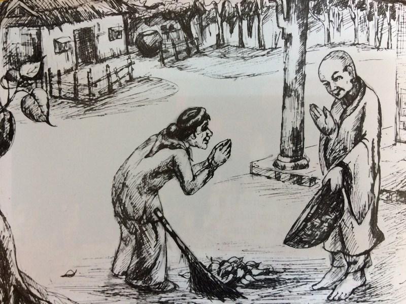 Thiền sư Tông Diễn gặp lại người mẹ ly biệt