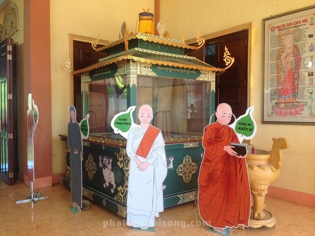 Triển lãm y phục tu sĩ Phật giáo Nam Tông, Bắc Tông, Khất Sĩ