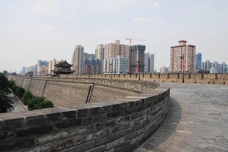 Tường thành cổ Tây An