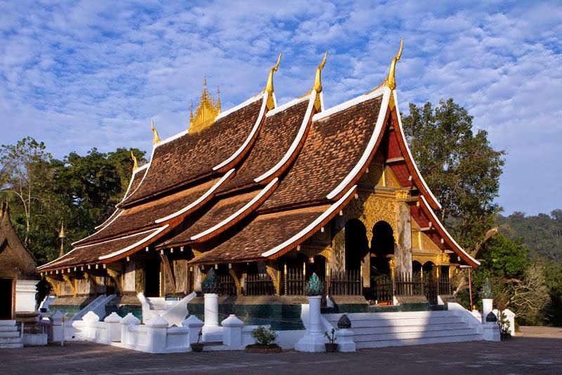 Xieng Thong - Ngôi chùa Phật giáo cổ nhất ở Luang Phrabang
