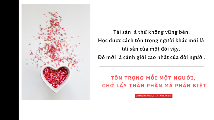 hoc cach ton trong nguoi khac